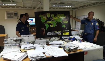 On 27 March, thousands of appeals calling for justice for Jerryme Corre were handed over to the Philippines National Police (PNP) Internal Affairs Service (IAS)