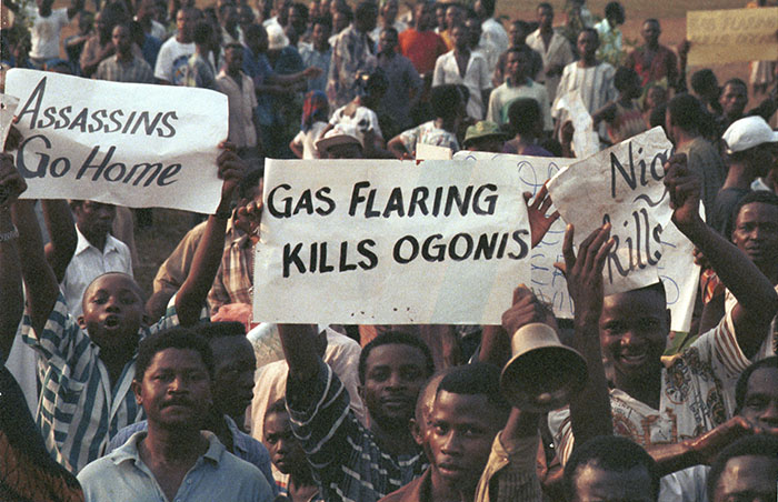 Ogoni day protests in Nigeria