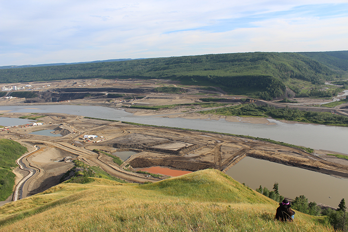 Construction of the Site C Dam on the Peace River