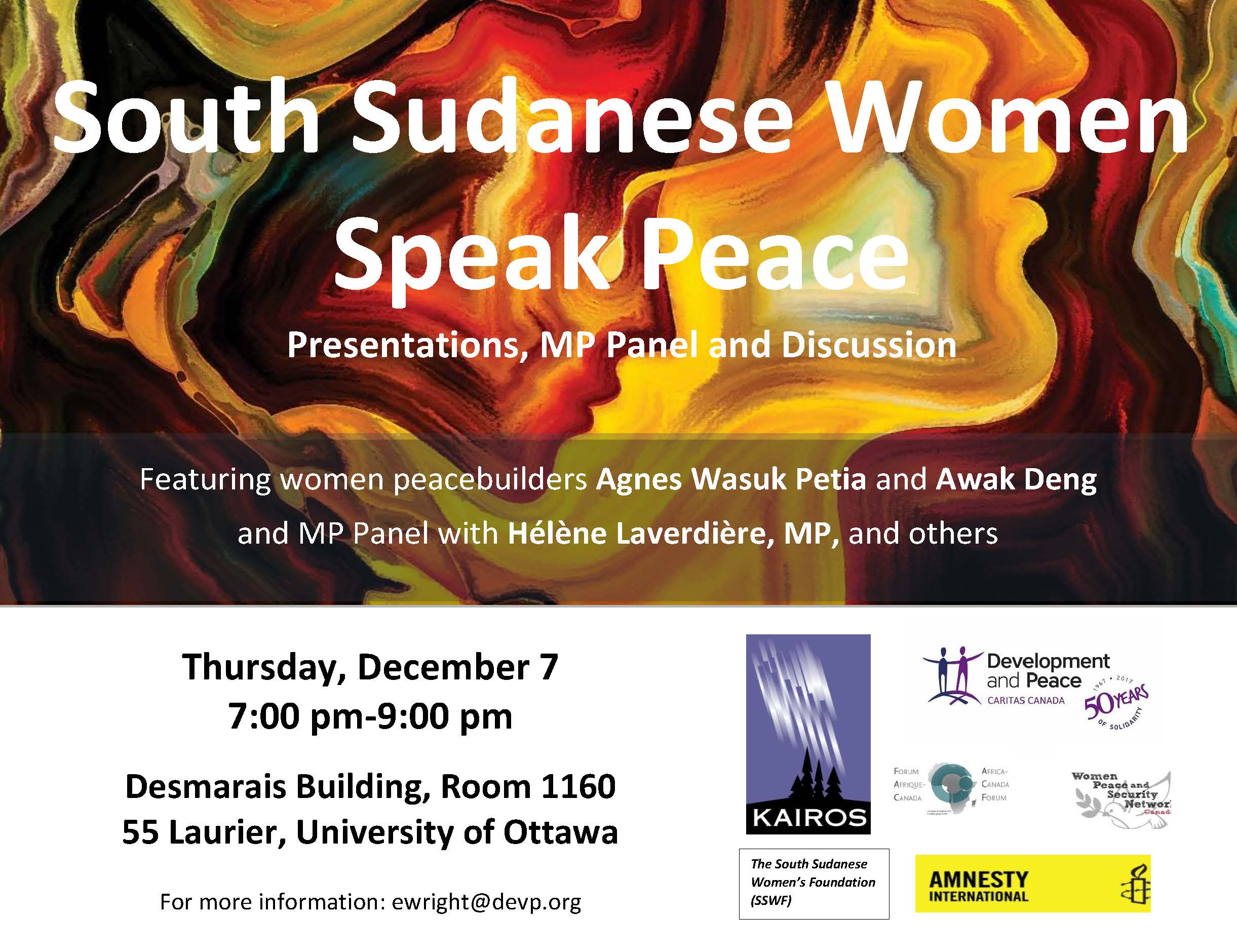 South Sudanese Women Speak Peace