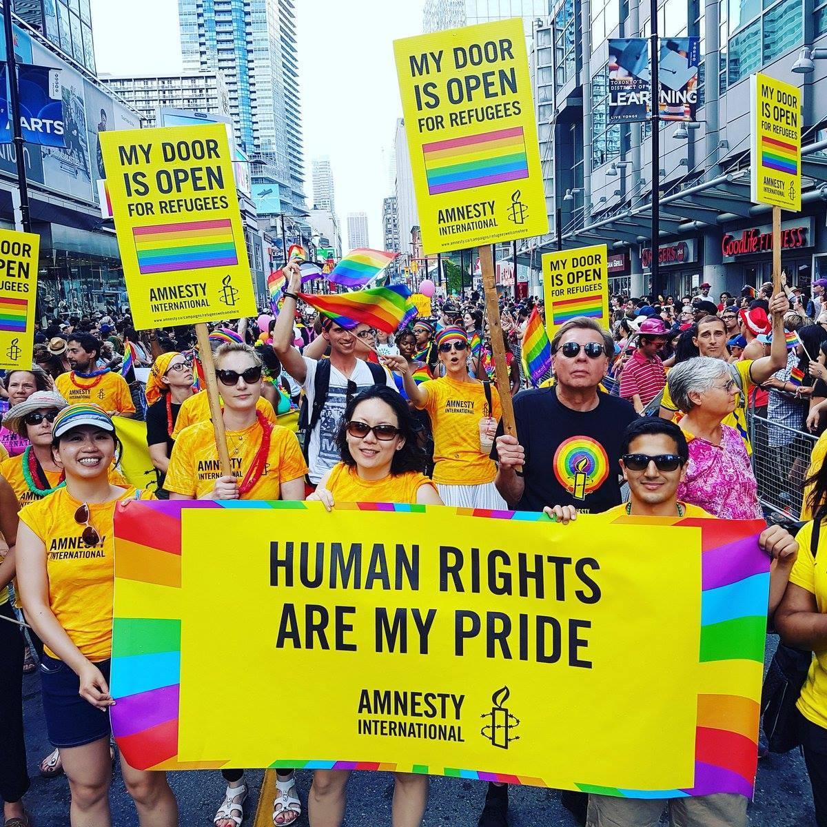 Amnesty International At Ottawa Pride Amnesty