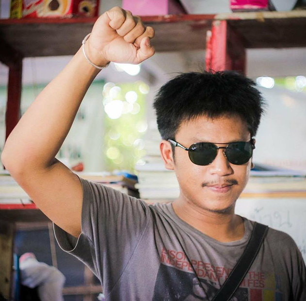 Student Jatupat Boonpattararaksa is in prison for making posts on his Facebook.  © Facebook