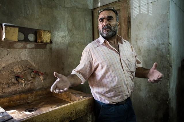 Qais Nasaran a store owner from Al-Jiftlik