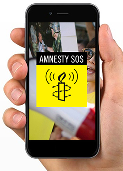 Amnesty SOS - Human rights action in the palm of your hand | Amnesty