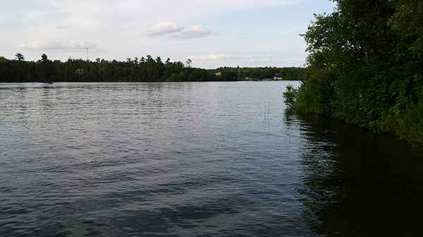 Shoal Lake - the source of water that the people of Winnipeg drink every day