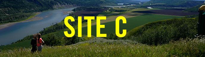 Site C dam campaign