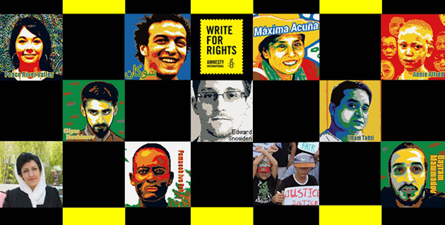 Write for Rights 2016 cases