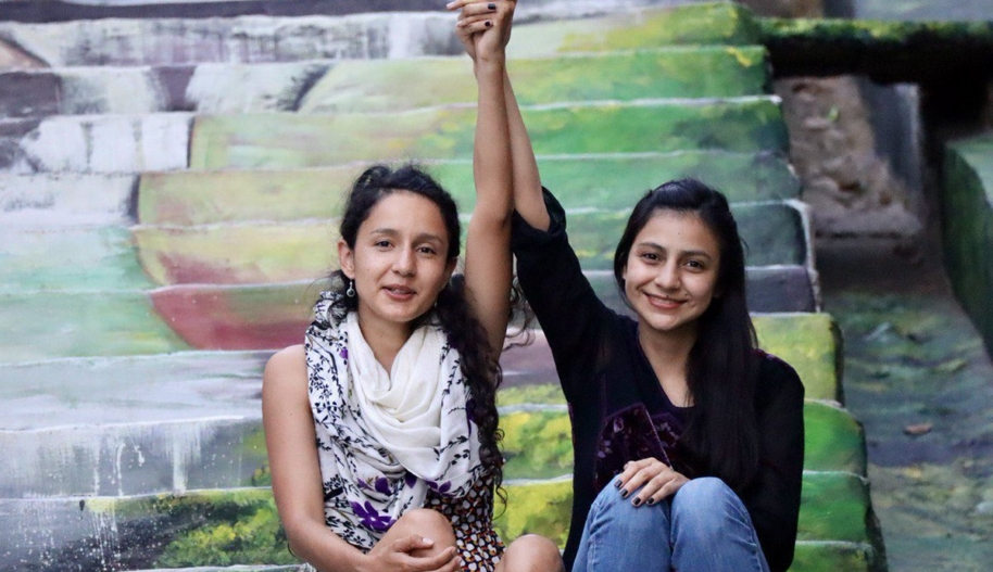 Bertha Isabel and Laura Zúniga Cáceres have inspired hope across the Americas, courageously leading a campaign to ensure those responsible for the murder of their mother, renowned Lenca water defender Berta Cáceres, do not escape justice. Photo: COPINH